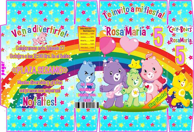 Modelo de tarjetas de cumpleaños de los ositos cariñosos - Imagui