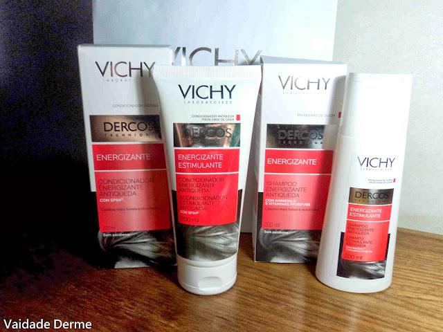 Dercos Energizante Shampoo + Condicionador da Vichy