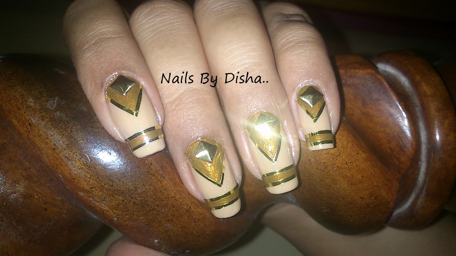 Egyptian Drama Queen Nails