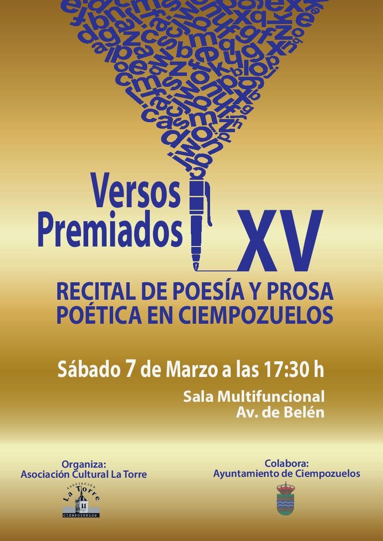 XV RECITAL DE POESÍA Y PROSA POÉTICA