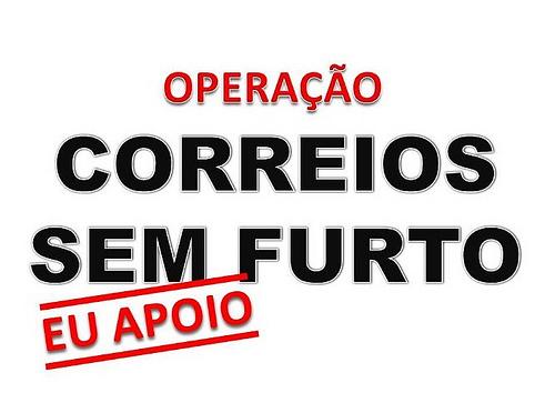 CORREIOS  -  É UMA POUCA VERGONHA!