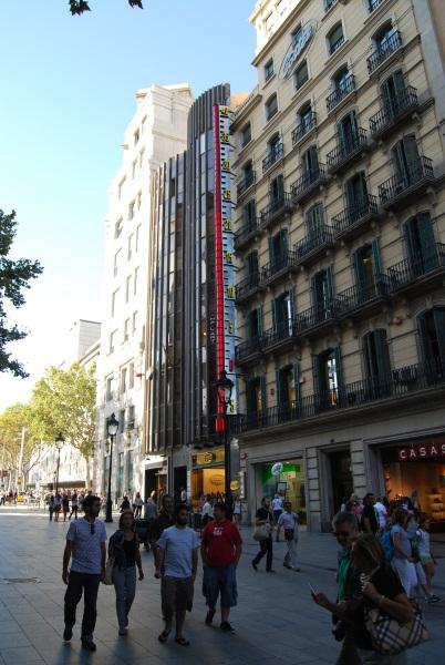 Barcelona Avinguda del Portal d l Angel