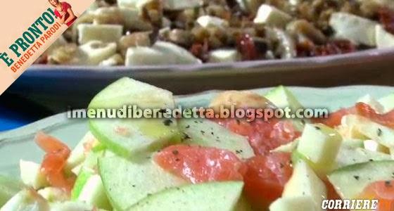 Bis di insalate invernali di Benedetta Parodi