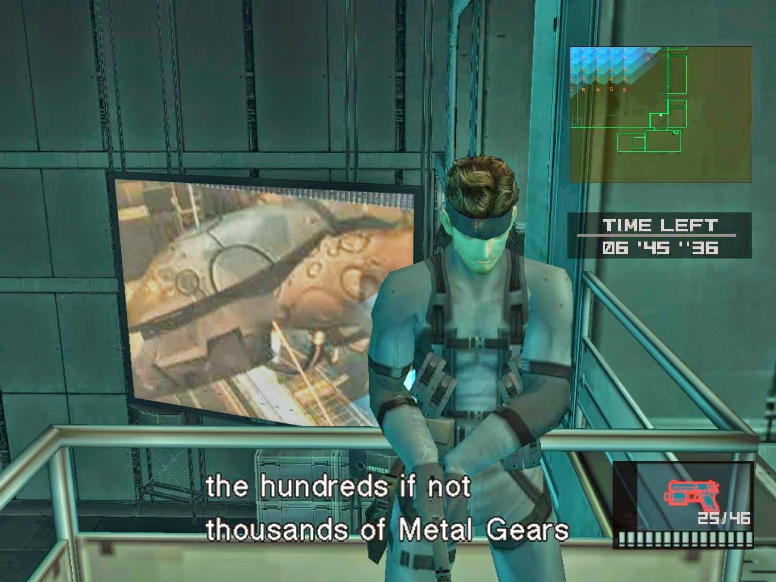 metal gear solid 2 free download full version pc