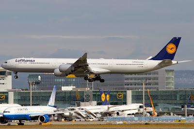 Lufthansa at Frankfurt