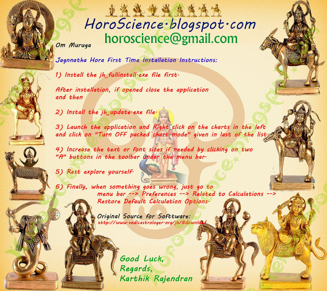 jagannatha hora, ஜோதிட மென்பொருள், free astrology software