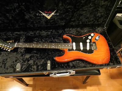 Fender Dale Wilson Masterbuild Violin Burst Strat