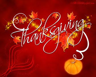 #4 Happy Thanksgiving Wallpaper