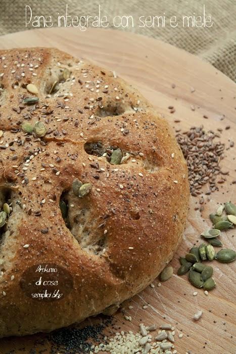 pane integrale con semi e miele, ricetta di gordon ramsay
