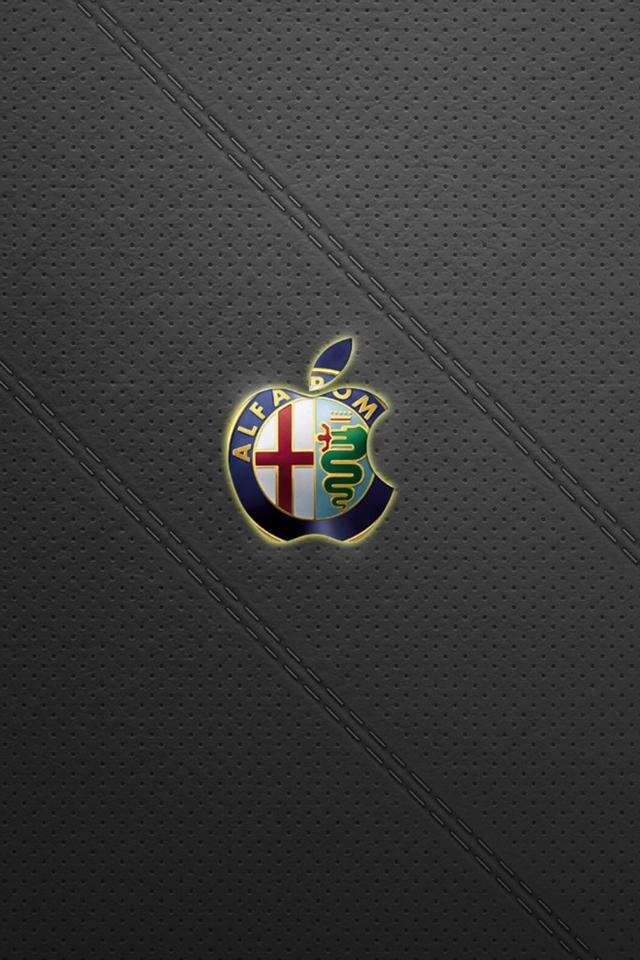 Alfa Romeo Apple Logo Download Iphoneipod Touchandroid
