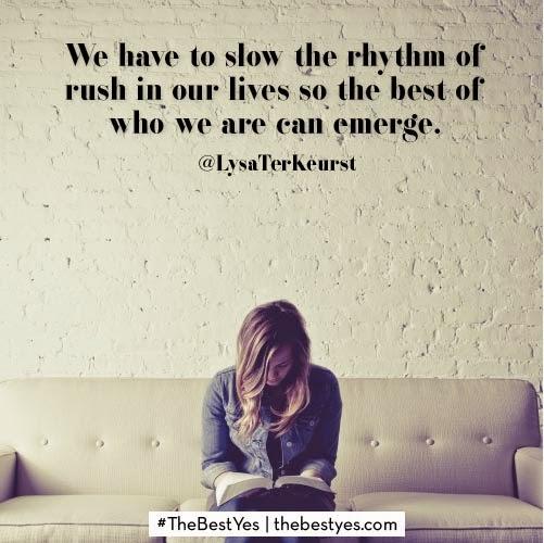 http://www.thebettermom.com/2014/08/28/slowing-rhythm-rush/