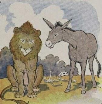 """Cerita Dongeng: """"Singa dan Keledai"""""""