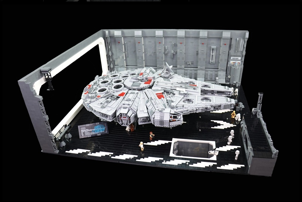hasbro millennium falcon instructions