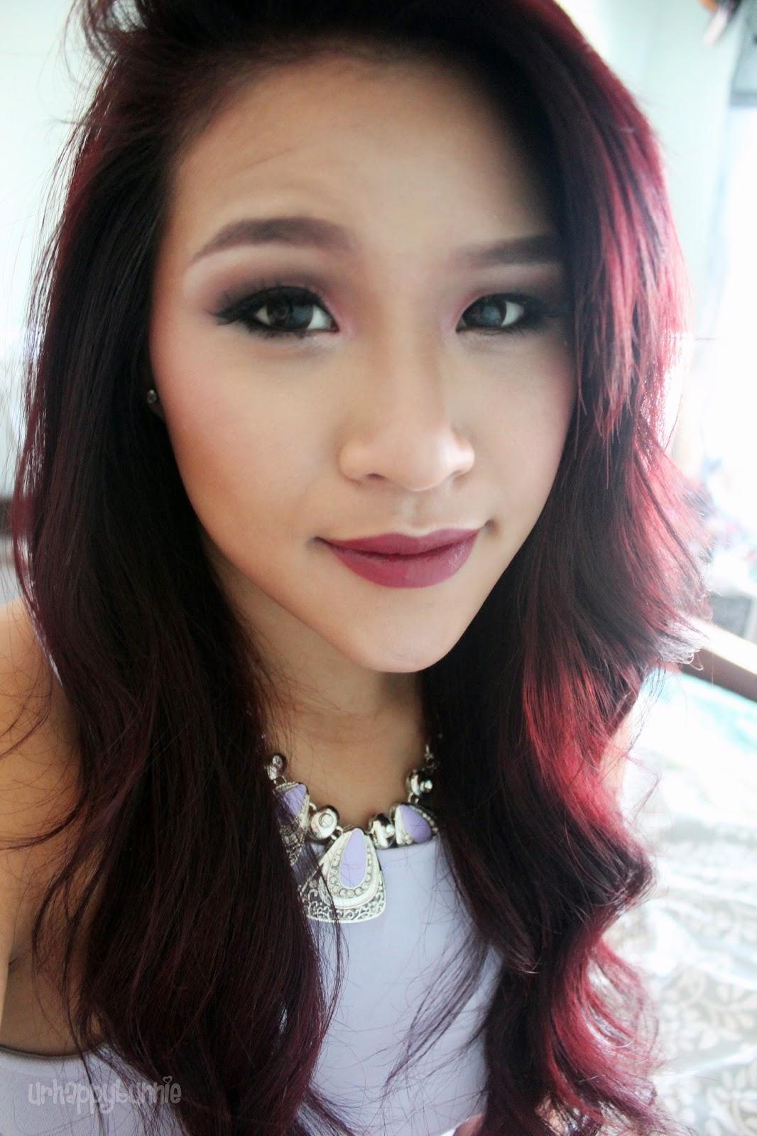 UrHappyBunnie: Fall 2014: Dark Intense Burgundy Hair