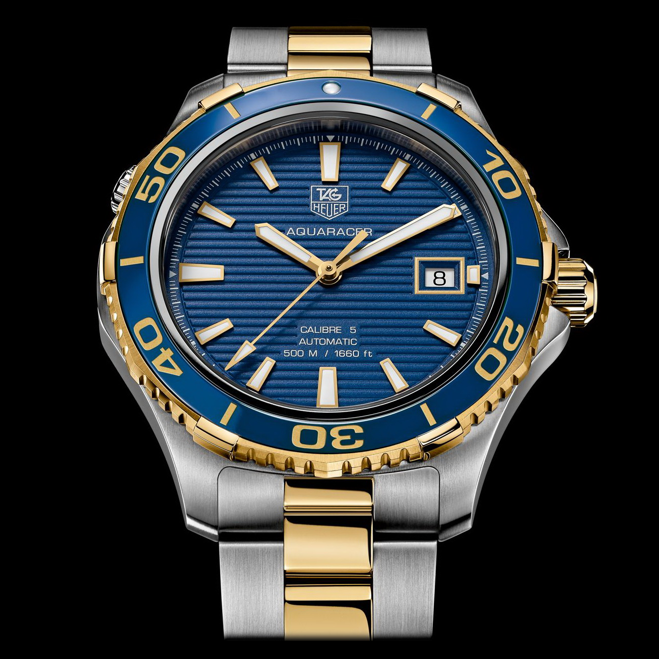 Oceanictime tag heuer aquaracer 500m ceramic firstlook for The tag heuer aquaracer