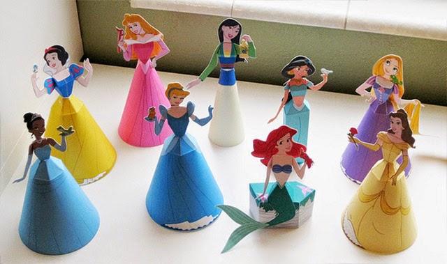 LA CARTUCHERIA: Imprimibles Moldes de princesas disney