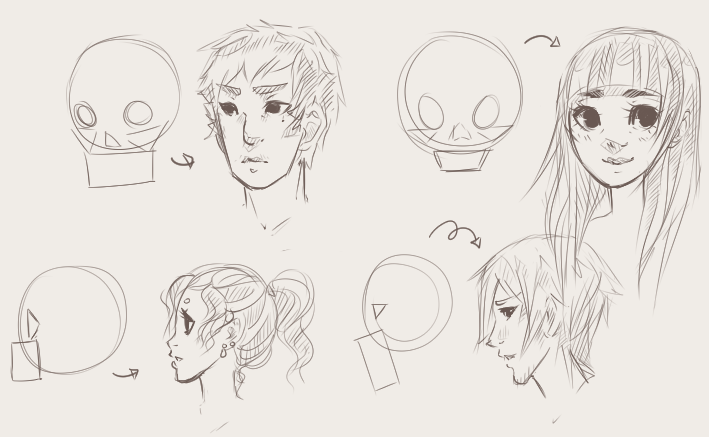 How To Draw Faces Draw Central