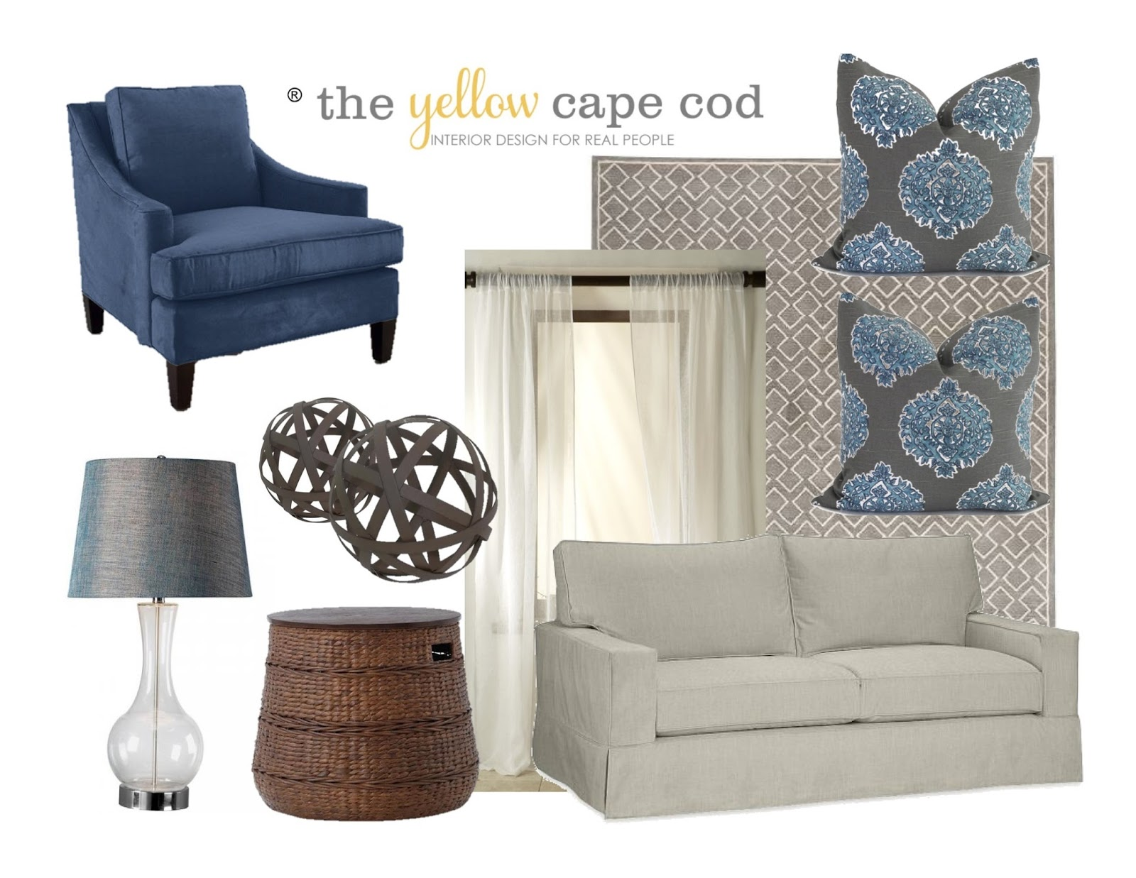 a palette of grays and blues provide a spa like feel which lends a feeling of relaxation to keep the space from feeling stark or cold we warmed up the - Cool Colors For Living Room 2