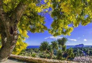 februari vakantie in Moraira aan de Costa Blanca