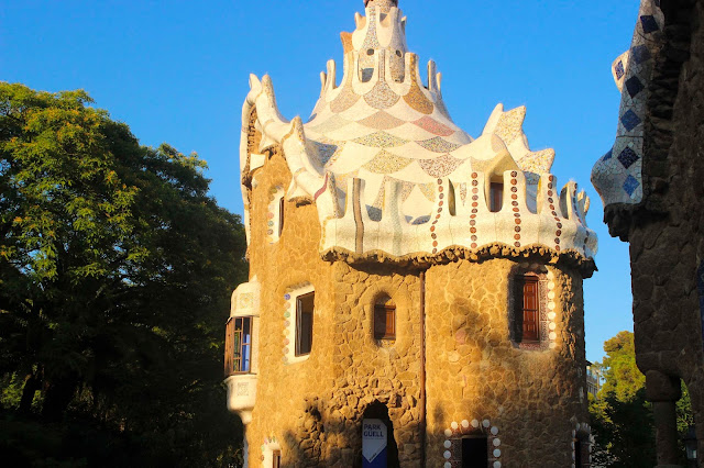 Main Entrance   Park Guell    Chichi Mary Blog