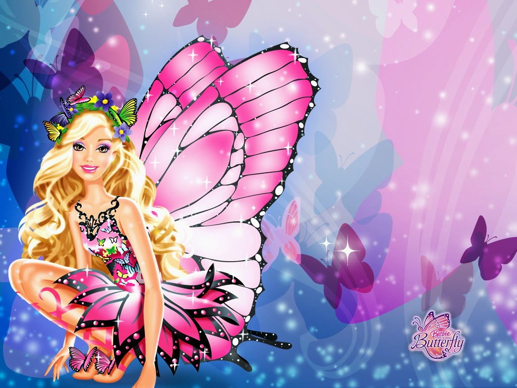 Download Wallpaper Gambar Kartun Barbie Lengkap Terbaru 2014