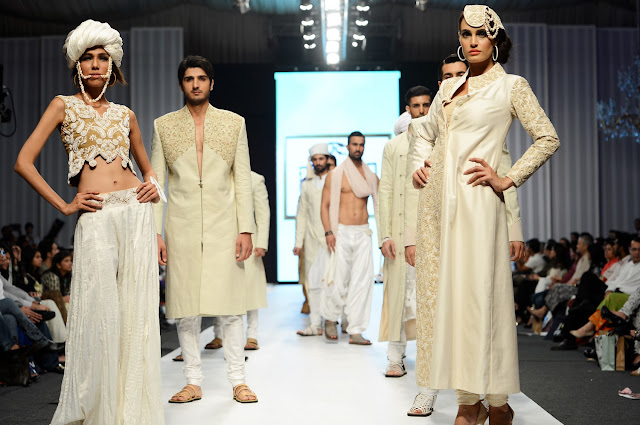 Nauman Arfeen Pakistani Fashion Roundup 2013 - review of 2013