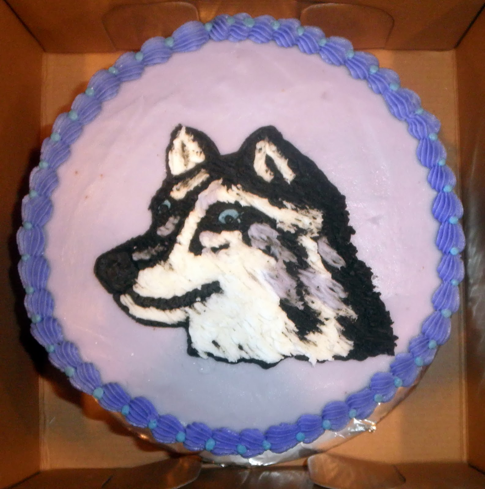 Cakes By D A Birthday Wolf