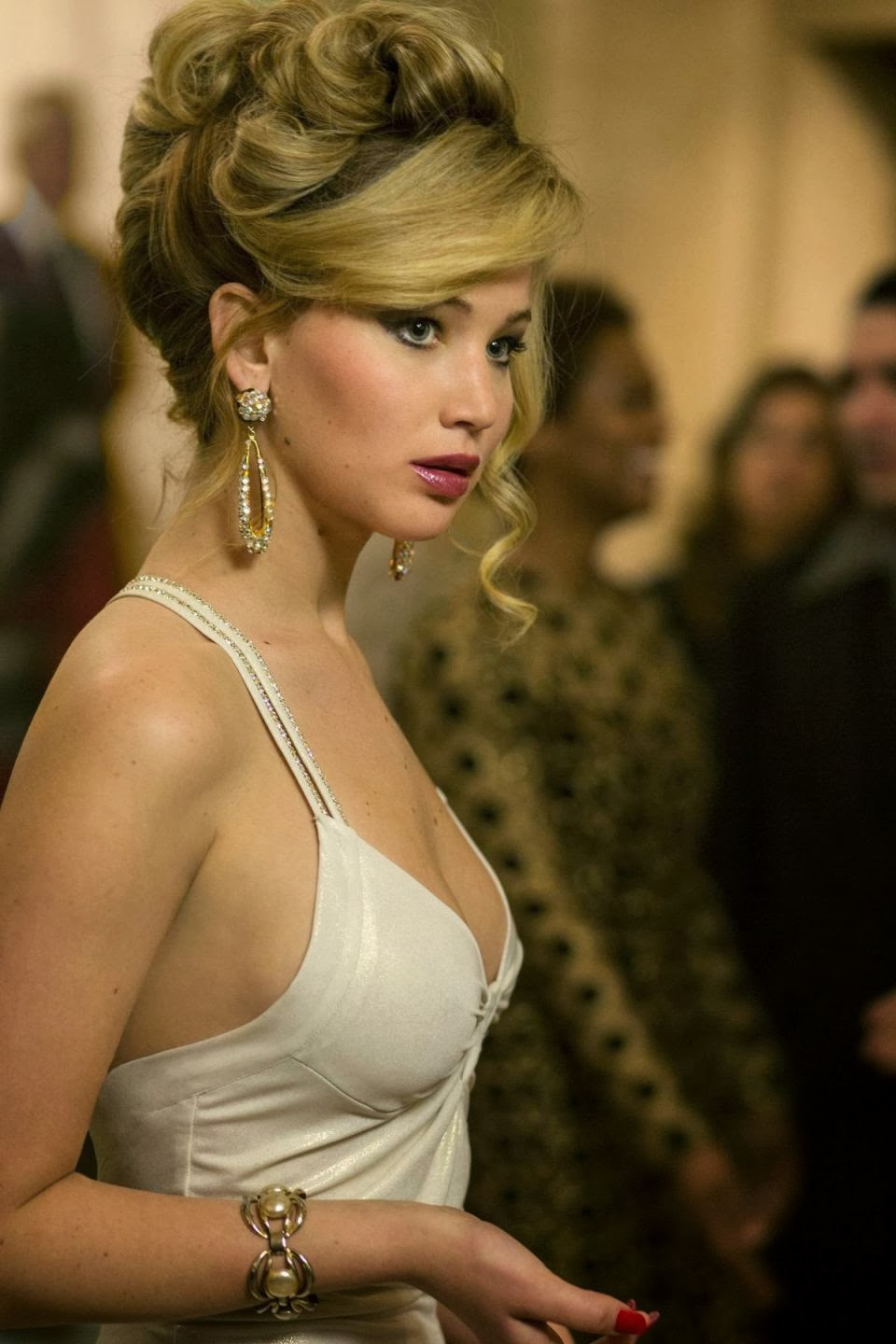 "Jennifer Lawrence Photos at ""American Hustle"" Promos"
