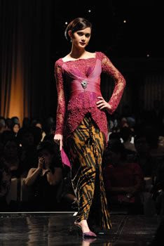 Traditional Indonesian Kebaya