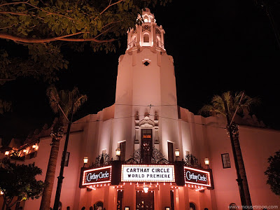 DCA Disney California Adventure Buena Vista Street Carthay