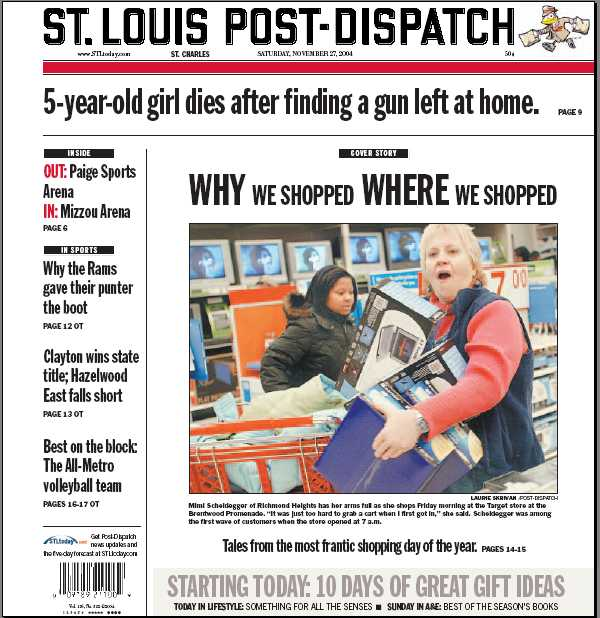"The Downward Spiral: St. Louis Post-Dispatch CEO: ""Great News...We ..."