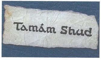 TAMAM SHUD The Somerton Man Mystery