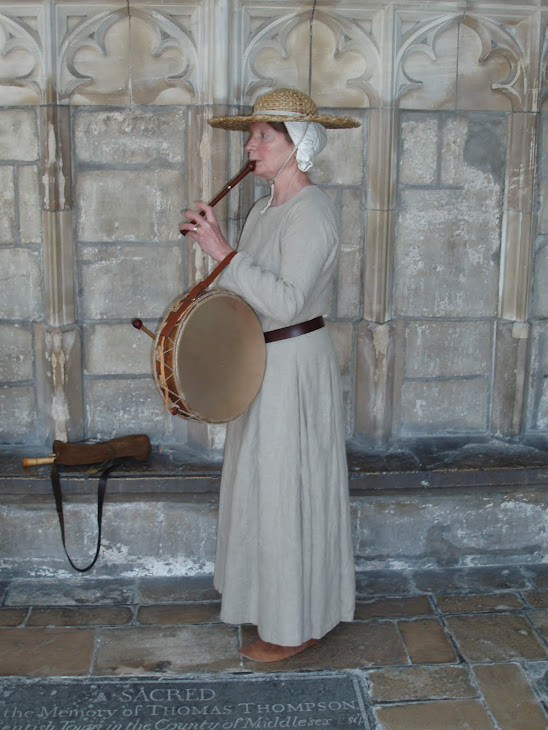 playing in the Cathedral cloisters