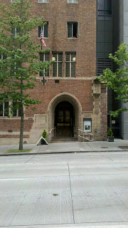 Seattle YMCA main entrance
