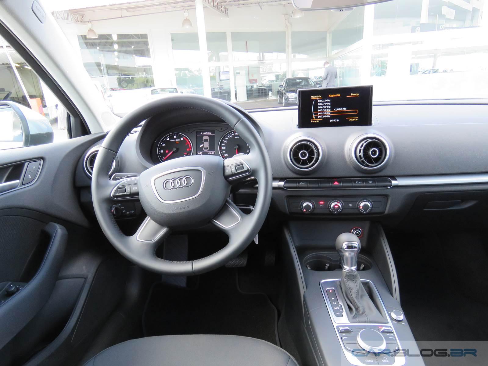 Novo Audi A3 Sedan 1.4 Flex 2016 - interior