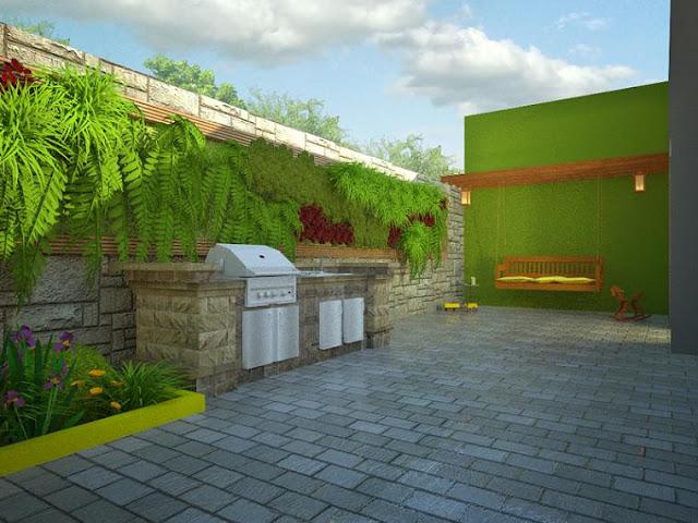 nowoczesne, miejskie, ogrody, projektowanie, ogrodów nowoczesnych