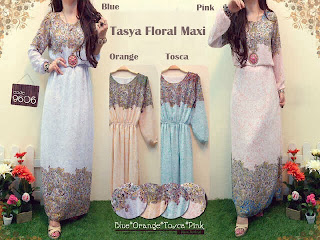 Tasya Floral Maxi Dress