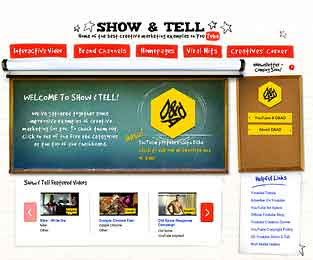 Show and Tell YouTuibe Channel