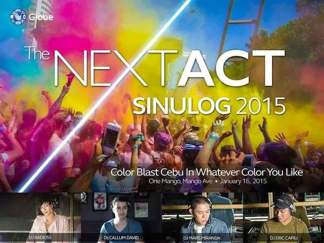 Globe Gen3 NEXT ACT & Sinulog 2015