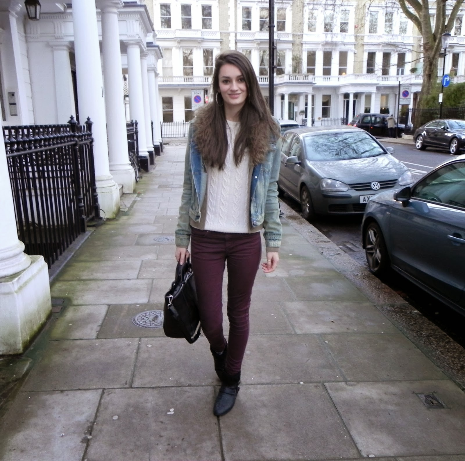 Aubergine Jeans