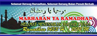 Sampul kronologi ramadhan biru