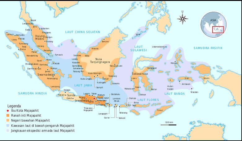 wilayah Kerajaan Majapahit