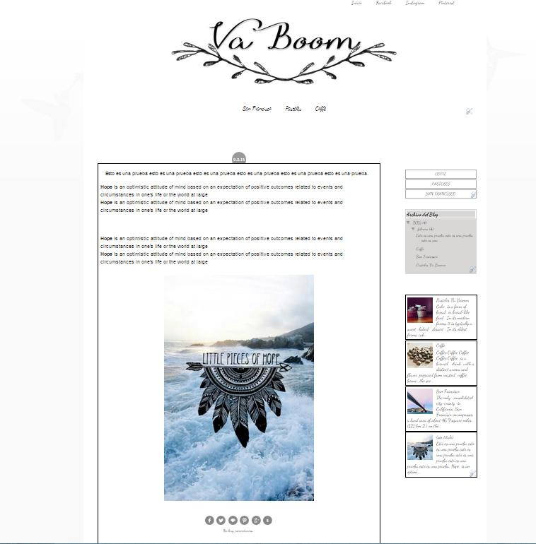 Blog Va Boomm