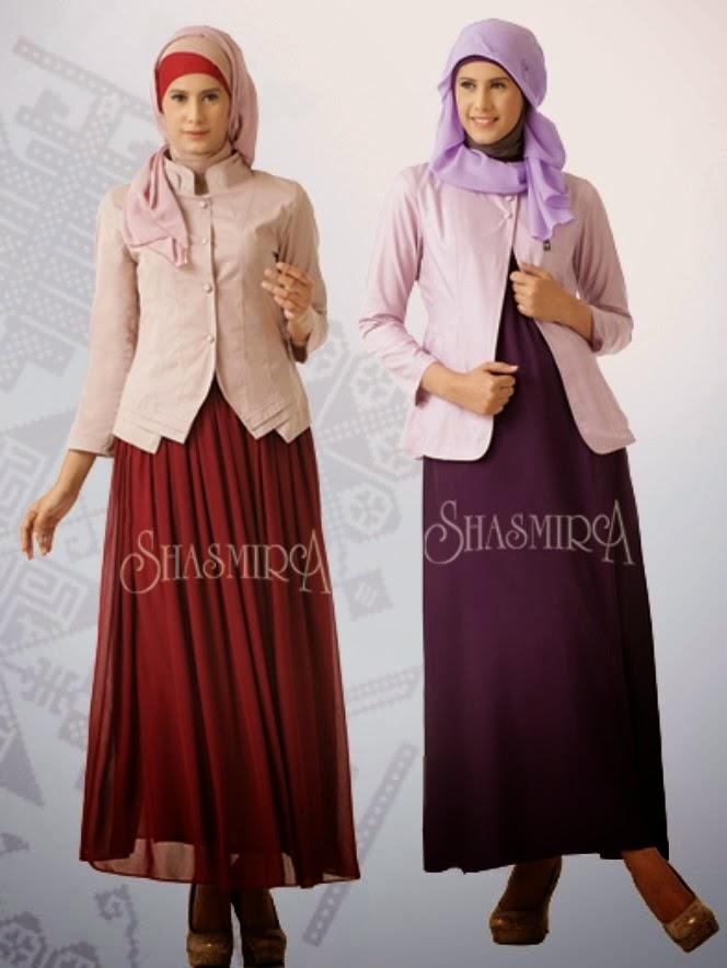 Model Baju Muslim Remaja Lebaran Trend 2016 Terbaru