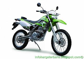Harga Kawasaki Trail KLX 250 S Spesifikasi 2012