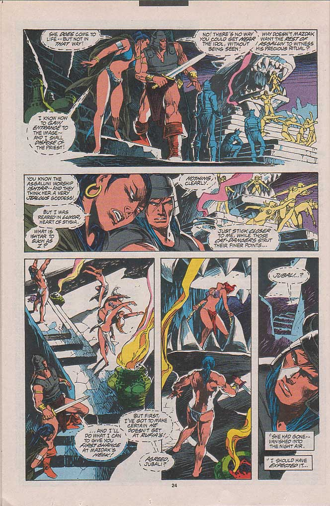 Conan the Barbarian (1970) Issue #262 #274 - English 17