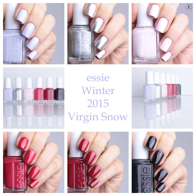 Essie Winter 2015 Virgin Snow LE Swatch