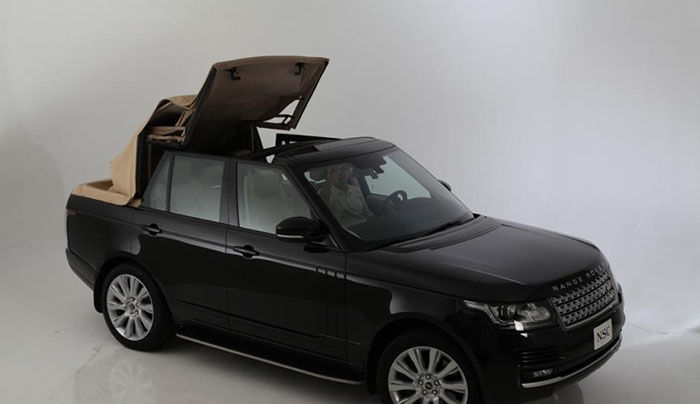 Range Rover Convertible Newport Points To The Tendency Of