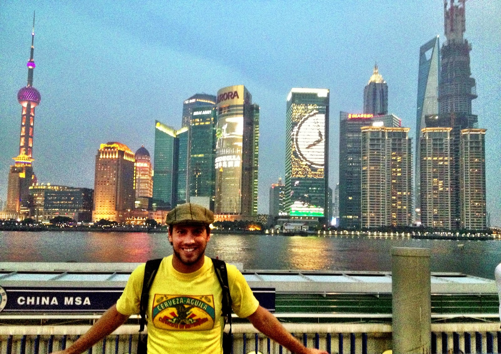 Simon Heyes in Shanghai, China