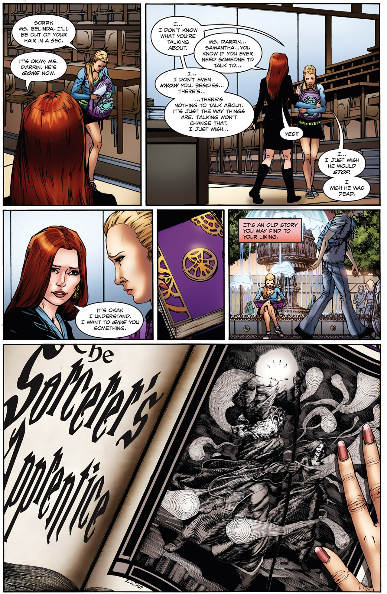 Grimm Fairy Tales (2005) Issue #21 #24 - English 5